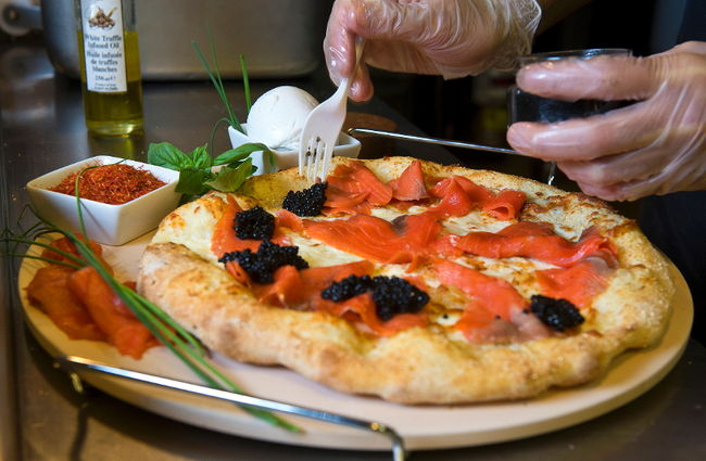 Pizza grand luxe